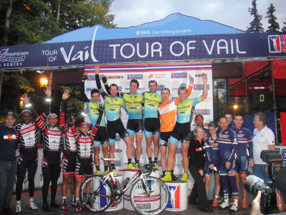 Tour Of Vail Podium