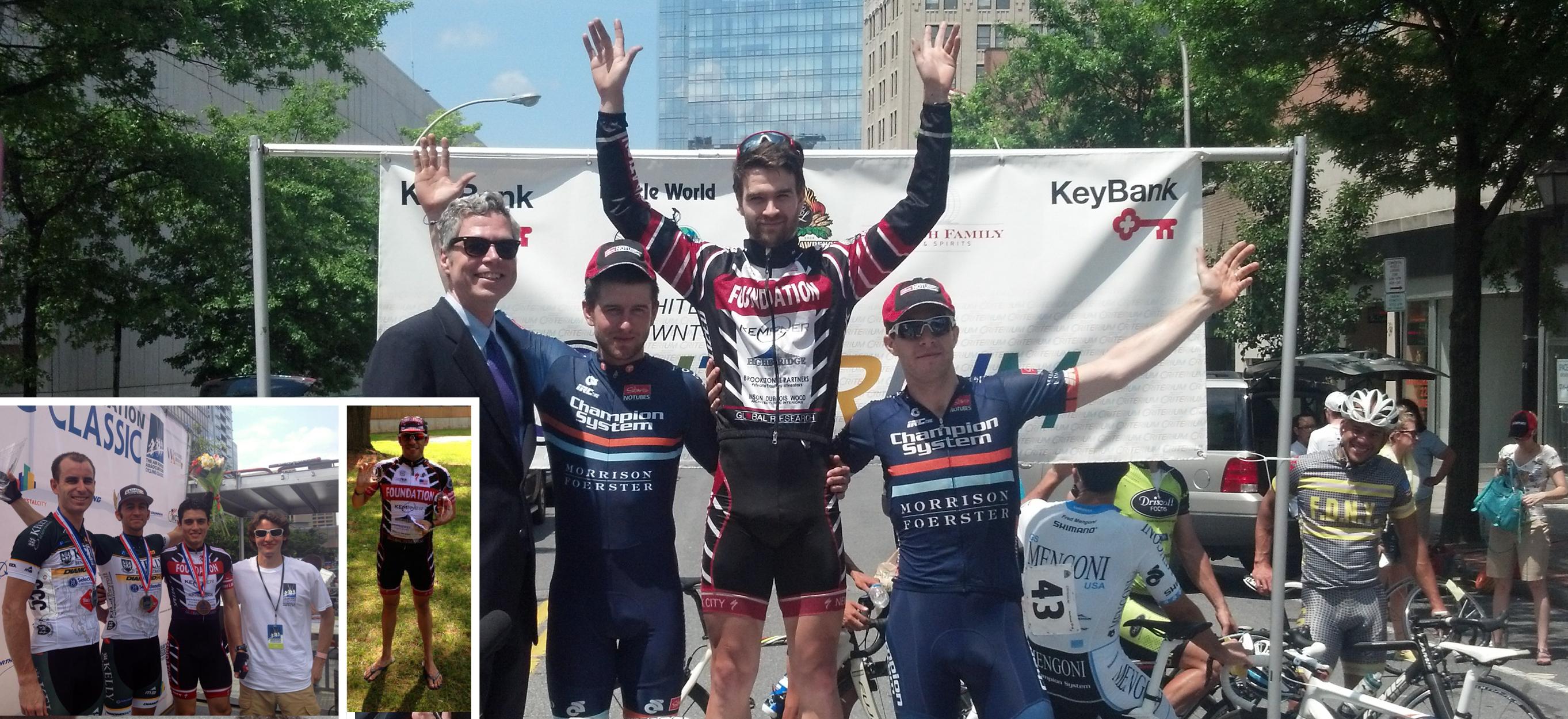 Evan Murphy Wins the White Plains Crit