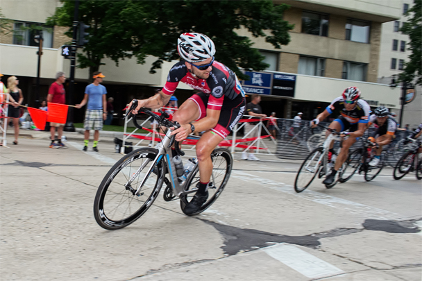 Foundation Cyclist Evan Murphy at the US Nationals